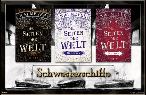 Die Seiten der Welt - Blutbuch von Kai Meyer - Das Trilogie-Finale