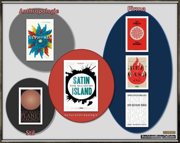Satin Island von Tom McCarthy - AstroLibrium - Die Bücherkette