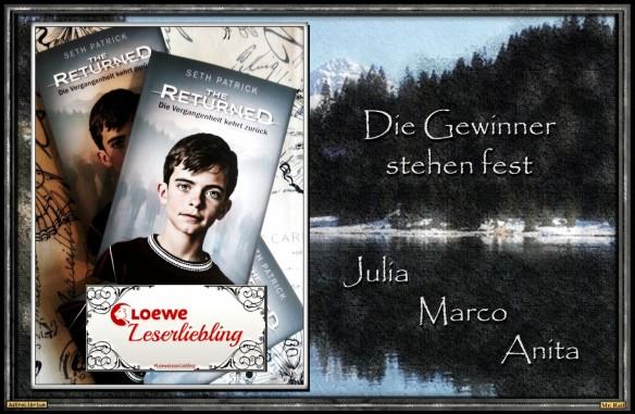 The Returned - Die Gewinner der Aktion LoeweLeserLiebling