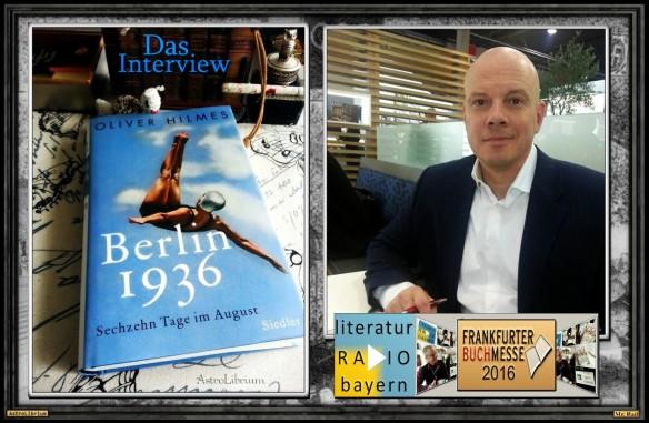Berlin 1936 - Sechzehn Tage im August - Das Interview mit Oliver Hilmes