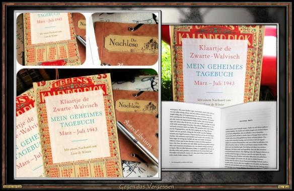 Mein geheimes Tagebuch von Klaartje de Zwarte-Walvisch - Verenas Nachlese