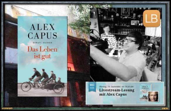 Das Leben ist gut von Alex Capus - LovelyBooks in Aktion