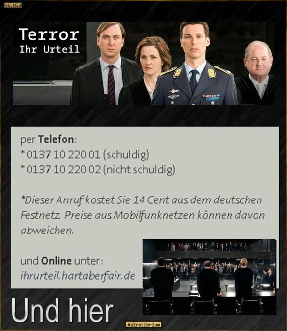 Terror - Ferdinand von Schirach - Ein moralisches Experiment
