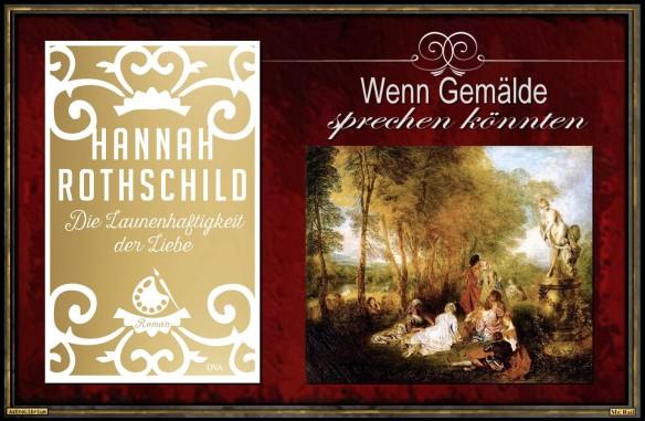 """""""Die Launenhaftigkeit der Liebe"""" von Hannah Rothschild - AstroLibrium"""