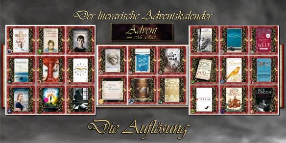 Der literarische Adventskalender - Die Auflösung
