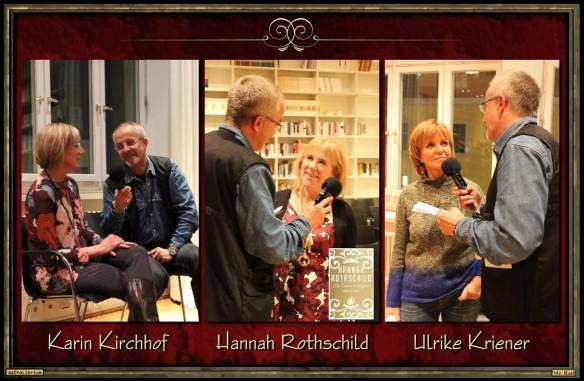 Die Launenhaftigkeit der Liebe von Hannah Rothschild - Eine Lesung - Fotos: Steffi Sack