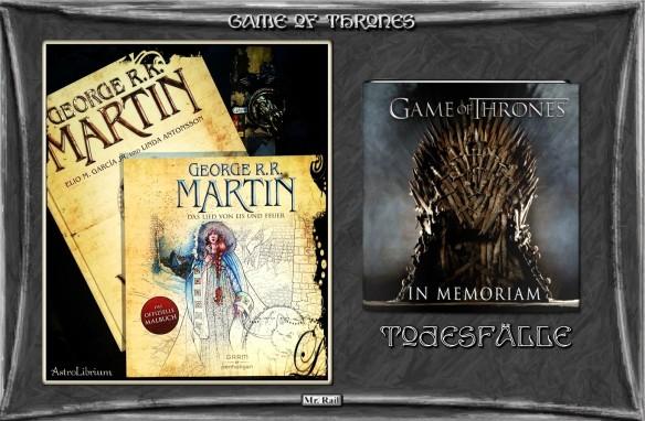 Game of Thrones - Bücher rund um Wesetros