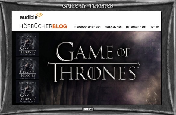 Game of Thrones - Der audibel Hörbücherblog
