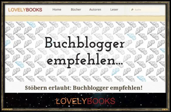Buchblogger empfehlen - Der LovelyBooks Bloggermonat mit 28 TopBlogs
