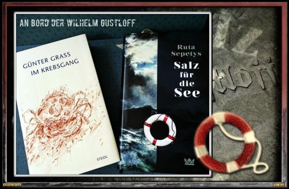 Salz für die See von Ruta Sepetys und Im Krebsgang von Günter Grass