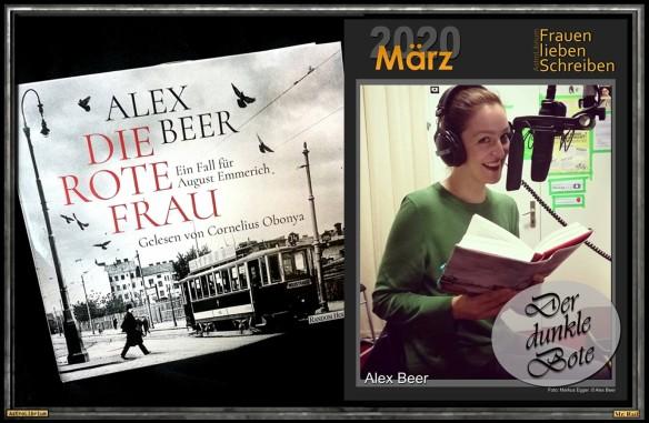 Alex Beer - Die rote Frau - Eine Verlosung - AstroLibrium