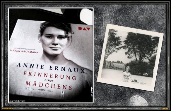 Erinnerung eines Mädchens - Annie Ernaux - AstroLibrium