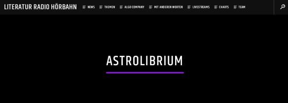 Hörbahn - Die PodCasts von AstroLibrium
