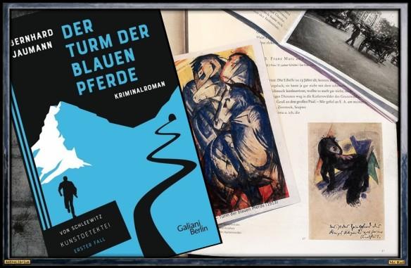 Der Turm der blauen Pferde von Bernhard Jaumann - AstroLibrium