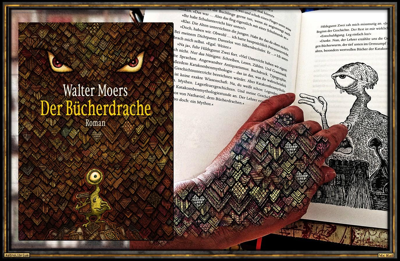 Der Bücherdrache Von Walter Moers Zamonien Astrolibrium