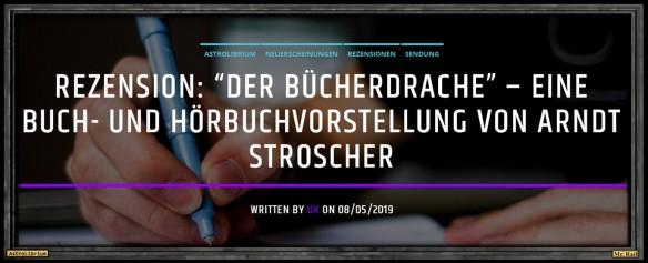 Der Bücherdrache - Walter Moers - Die Rezension fürs Ohr