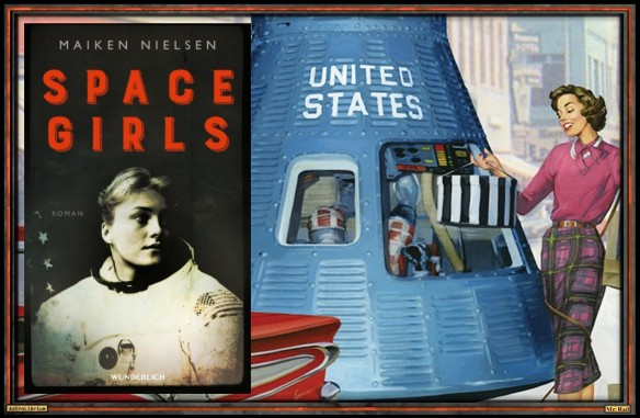 Space Girls von Maiken Nielsen - AstroLibrium
