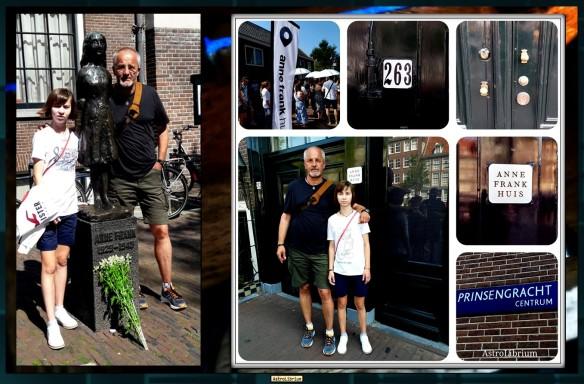 Alles über Anne - Ein Besuch - Anne Frank Haus - Astrolibrium