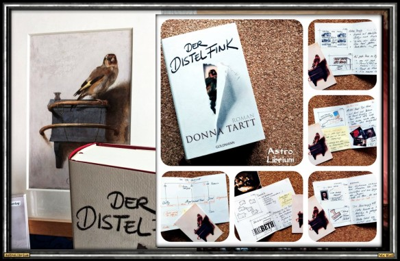 Der Distelfink von Donna Tartt - AstroLibrium