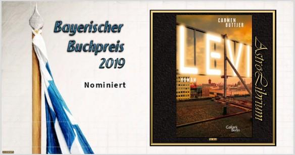 Bayerischer Buchpreis 2019 - Nominiert - Levi - Carmen Buttjer - AstroLibrium