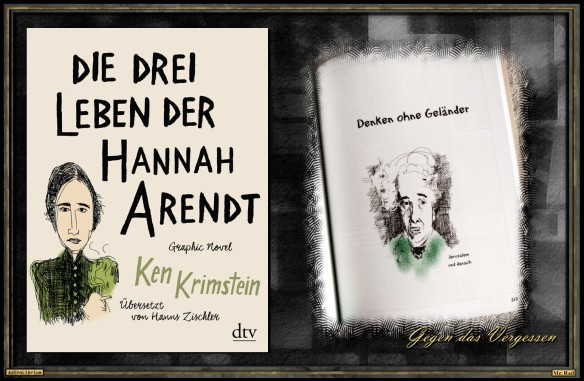 Hannah Arendt - Was für ein Leben - Drei sogar - Astrolibrium