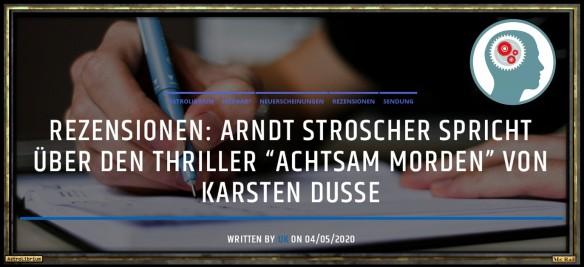 Achtsam morden von Karsten Dusse - Die Rezension fürs Ohr