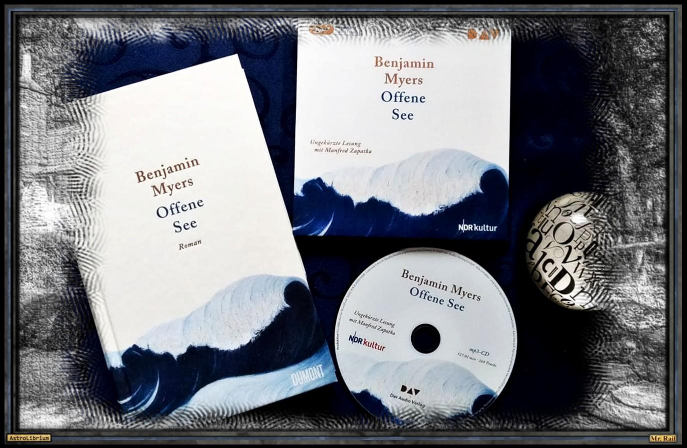 Offene See von Benjamin Myers - AstroLibrium