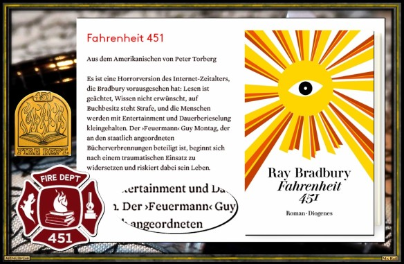 Fahrenheit 451 von Ray Bradbury - Astrolibrium