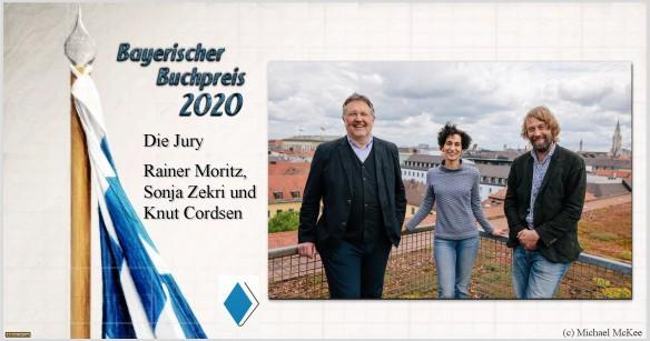 Bayerischer Buchpreis 2020 - Die Jury - AstroLibrium