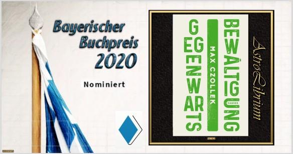 Bayerischer Buchpreis 2020 - Nominiert - Gegenwartsbewältigung - Astrolibrium