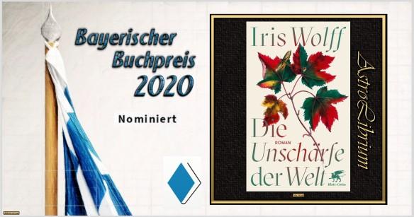 Bayerischer Buchpreis 2020 - Nominiert - Die Unschärfe der Welt - AstroLibrium