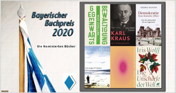 Der Bayerische Buchpreis 2020 - Die nominierten Bücher - AstroLibrium
