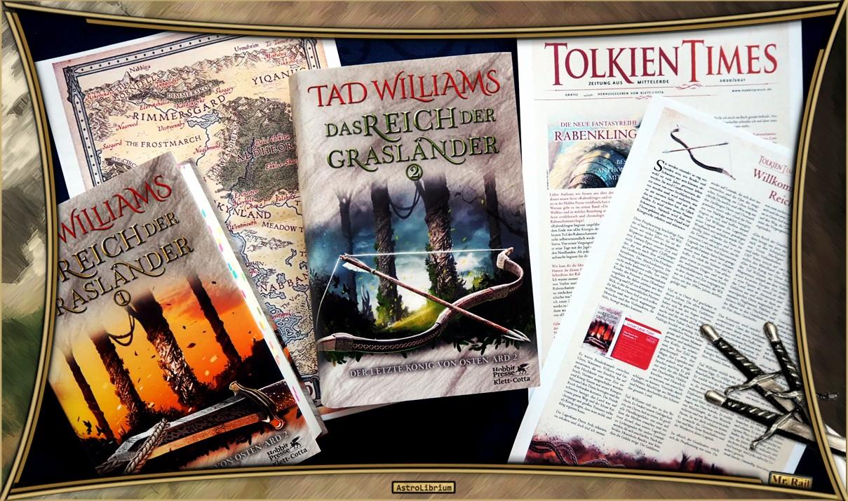 Das Reich der Grasländer von Tad Williams - Astrolibrium