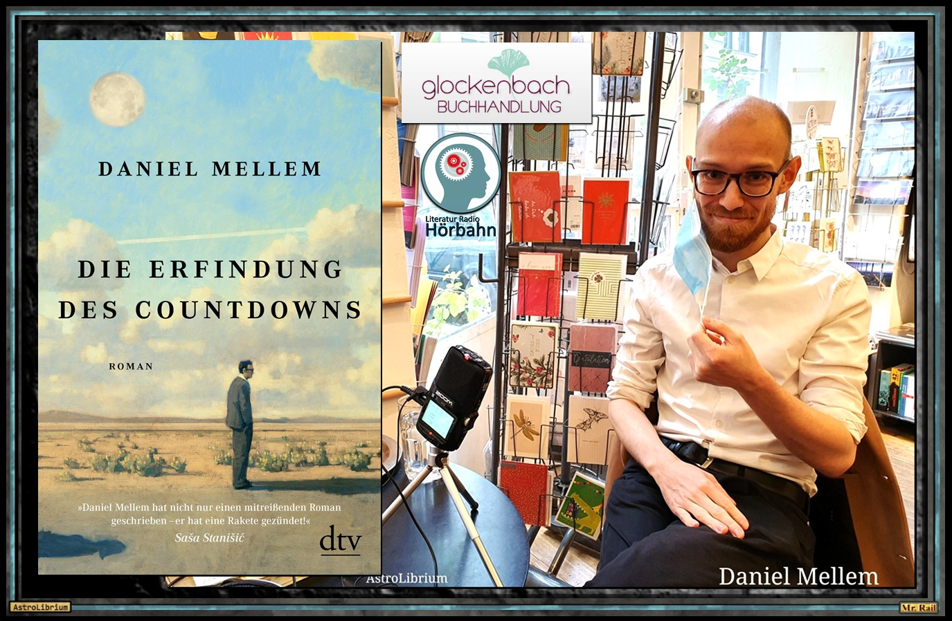 Die Erfindung des Countdowns - Daniel Mellem - Das Interview - Astrolibrium