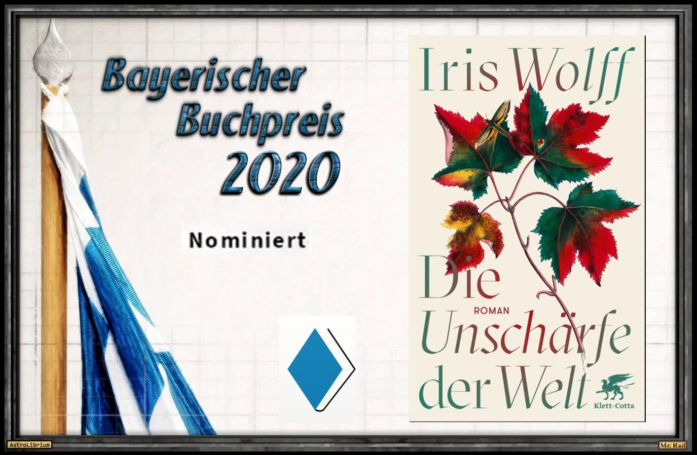 Die Unschärfe der Welt von Iris Wolff - AstroLibium