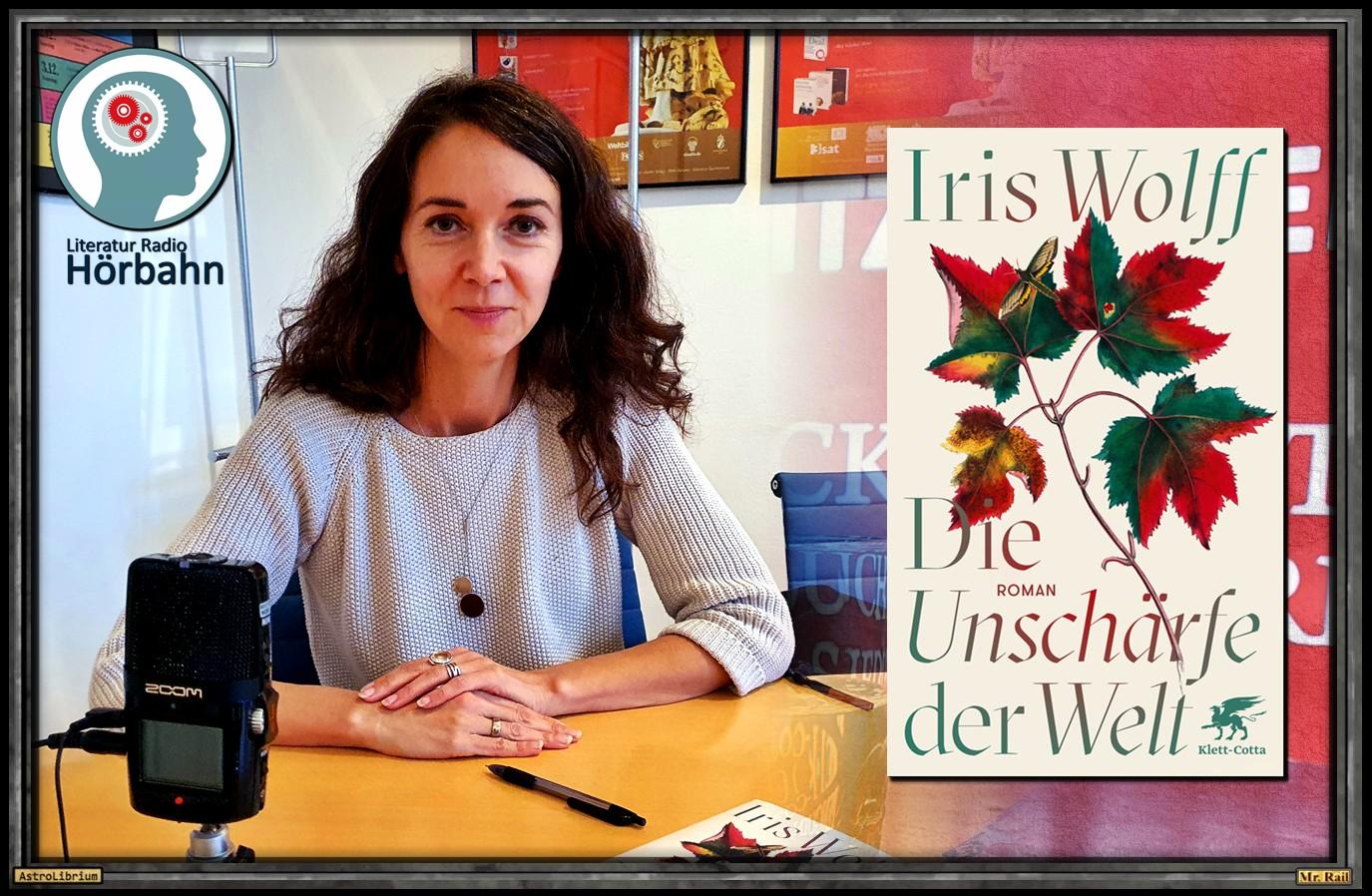 Die Unschärfe der Welt von Iris Wolff - Das Interview - AstroLibrium