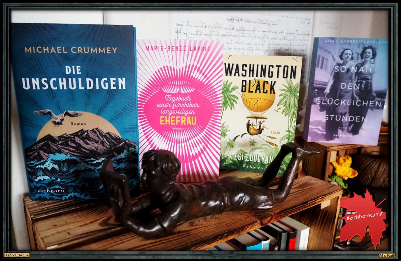Eichborn - Kanadische Literatur - Frankfurter Buchmesse 2020 - Astrolibrium