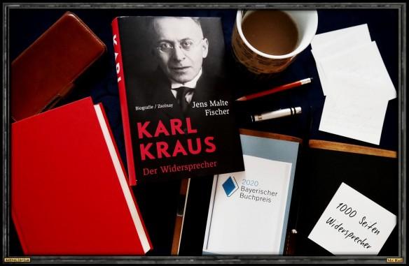 Karl Kraus - Der Widersprecher von Jens Malte Fischer - Astrolibrium