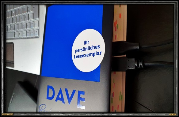 DAVE von Raphaela Edelbauer - Astrolibrium