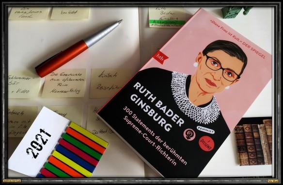 Ruth Bader Ginsburg - Bricks Books and Hope - Astrolibrium