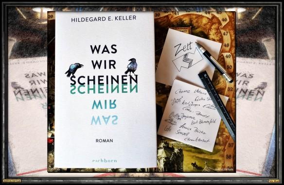 Was wir scheinen - Hildegard E. Keller - Astrolibrium