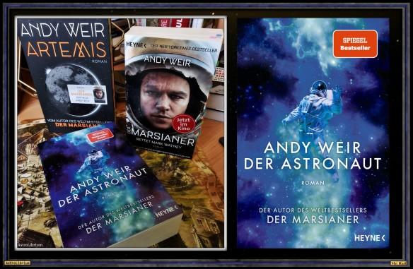 Der Astronaut von Andy Weir - Astrolibrium