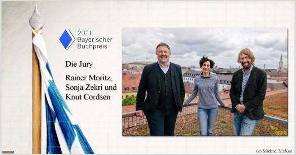 Bayerischer Buchpreis 2021 - Astrolibrium