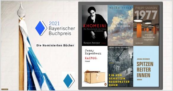 Bayerischer Buchpreis - Die Nominierten - AstroLibrium