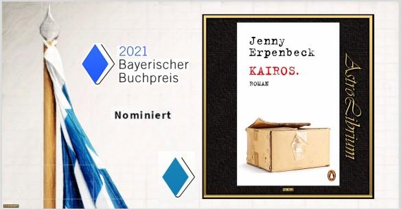 Bayerischer Buchpreis - Nominiert - Kairos - Jenny Erpenbeck - Astrolibrium