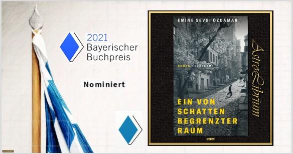 Bayerischer Buchpreis - Nominiert - Ein von Schatten begrenzter Raum - Astrolibrium