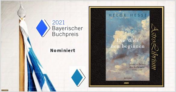 Die Welt neu beginnen - Helge Hesse - nominiert - Sachbuch - Astrolibrium