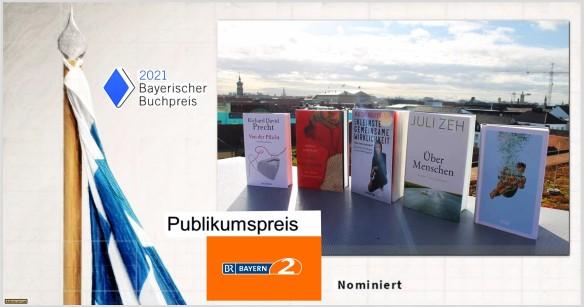 Bayerischer Buchpreis - BR 2 Publikumspreis - nominiert - Astrolibrium